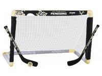 Minihockeyset: Bur, 2 klubbor och boll - Penguins