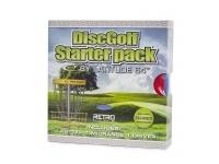 Disc Golf Starter Pack - Retro Line (Beginner)
