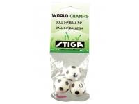 Bordsfotbollsspel: Stiga Football World Champs - Extra bollar (3 st)