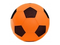Fotboll: XXL 50 cm - Orange/Svart