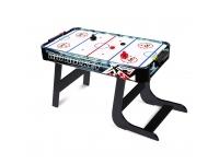 Bordsspel: Airhockeyspel med ben (85 x 42,5 x 60 cm)